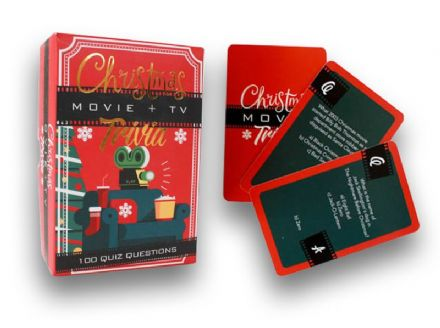 Christmas Movie  and TV Trivia Card Game